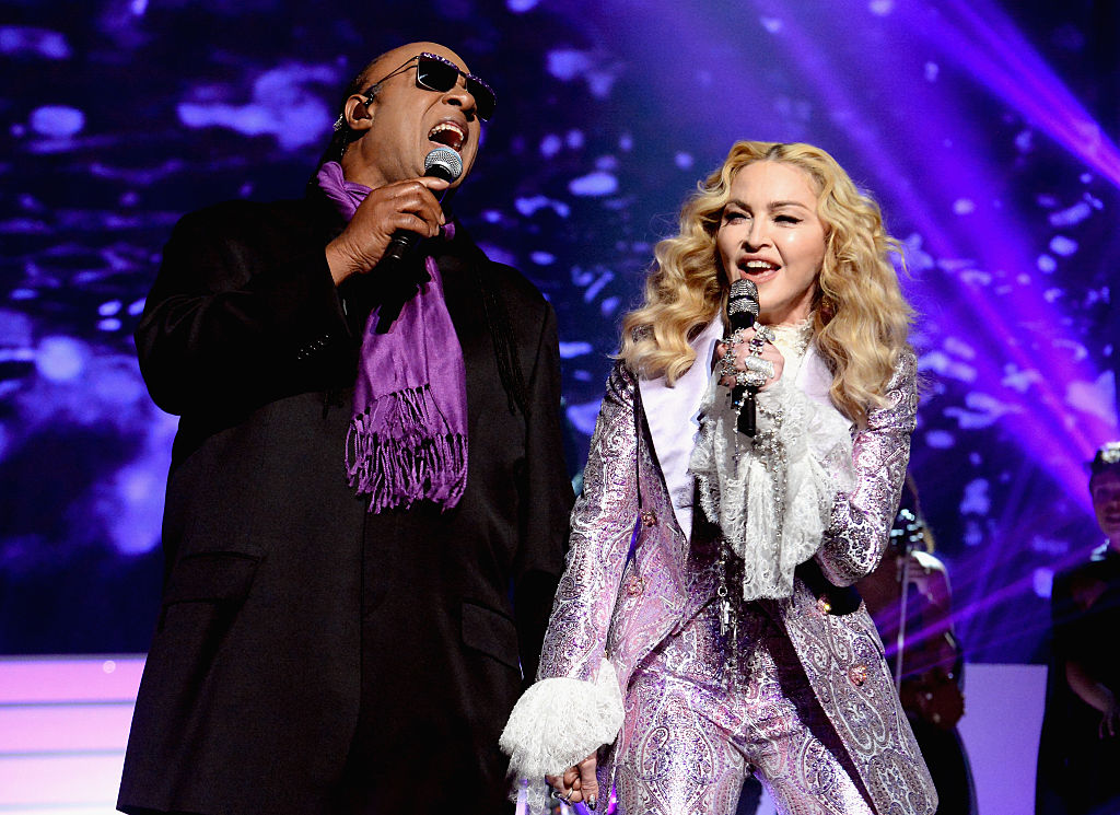Madonna and Stevie Wonder's tribute to Prince at the Billboard Music Awards was moving
