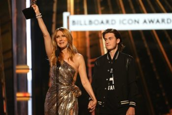 Celine Dion cried when her son surprised her at the Billboard Music Awards and now we're crying too