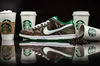Starbucks and shoe lovers, Nike just made all your dreams come true