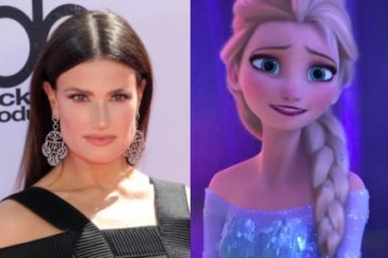 Here's what Idina Menzel has to say about #GiveElsaAGirlfriend