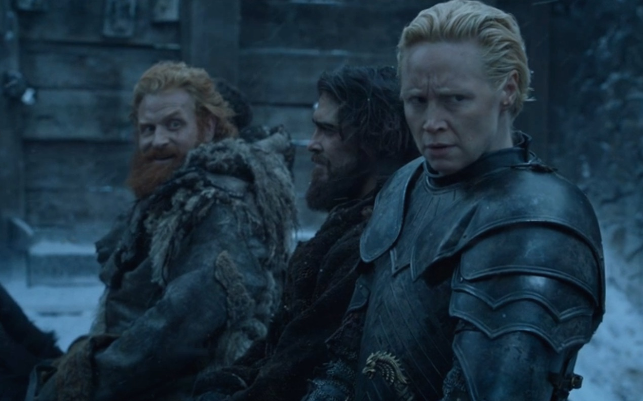 "Here's your ""Game of Thrones"" proof that Brienne is totally into Tormund, too"