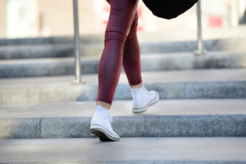 A school's proposal to ban leggings has received the best response from students