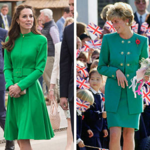 Kate Middleton channeled Princess Diana in this outfit and we can't help but love it
