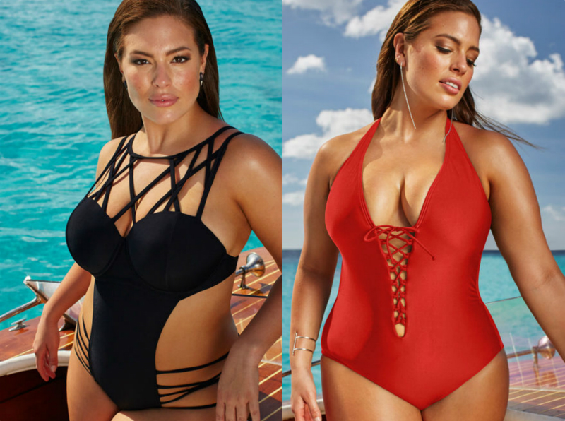 Ashley Graham just put out a stunning swimsuit line