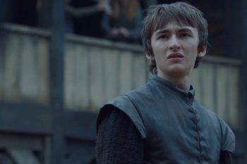 "Does this scene prove Bran time-traveled back to Ned Stark's beheading on ""Game of Thrones?"""