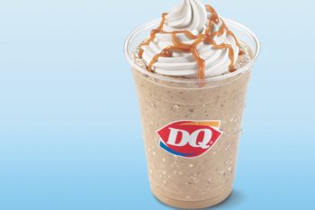 Life-changer: Dairy Queen now offers coffee drinks