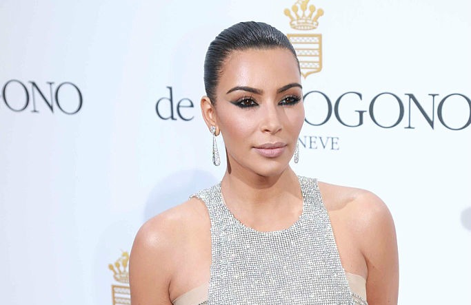 Kim Kardashian had to make an emergency alteration to her Cannes dress with tea bags