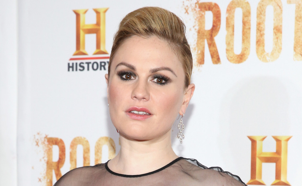Anna Paquin is serving some serious glam-goth vibes on the red carpet