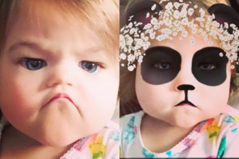 Babies with Snapchat filters is the best gift the internet has ever given us