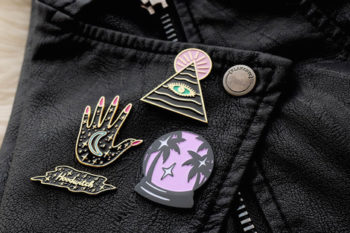 You're going to want to add these mystical pins from the Hoodwitch to your collection STAT
