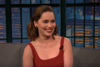 "This is how to sing ""MmmBop"" in Dothraki, according to Emilia Clarke"