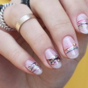 Bracelet nails are here for summer and they're simple perfection