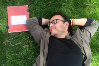 This guy did a photoshoot with his thesis paper and it was pure romance