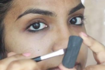 This makeup artist used the most simple at-home ingredient to get killer brows