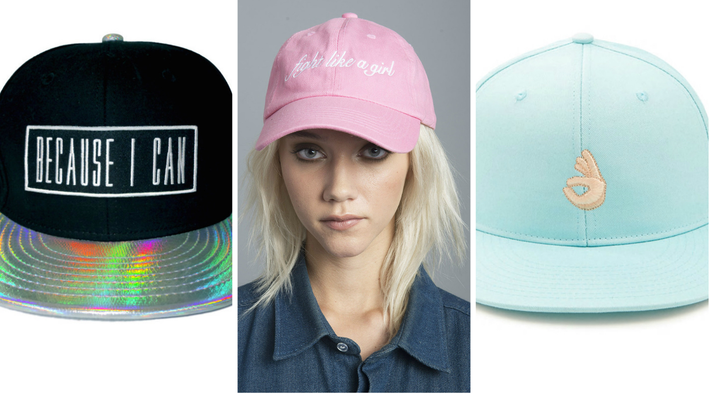 13 snapback hats that are too cool for school