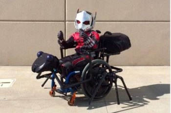 "You need to see this little dude's amazing ""Ant-Man"" cosplay, ant included"
