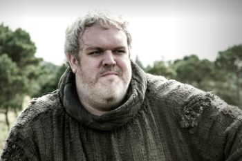 The actor who played Hodor received a very special cake, and it's going to make you eat your feelings