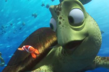"""This new """"Finding Dory"""" clip features Crush the turtle and it's totally sick"""