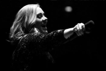 Adele forgot the lyrics to her song, but remained fully perfect