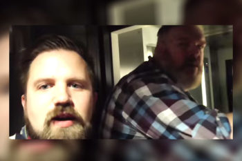 "Watch this guy ask the real life Hodor to ""hold the door"" because it's perfect"