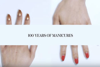 There's ANOTHER 100 years of manicures video and it's so inspiring