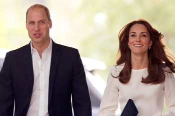 William and Kate have a new official portrait, which emerged from a thank you card