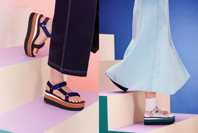 The sandals your dad wears just got a chic makeover and you'll want them
