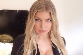 Fergie cut 13 inches off her hair and you can watch her do it