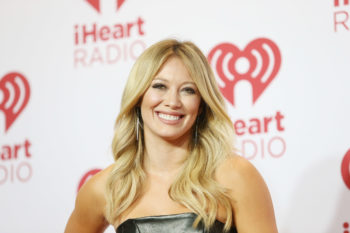 OMG, did Hilary Duff share a new clip from her recording session?!