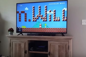 This next-level Super Mario proposal is both adorable AND impressive