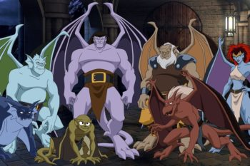 "The Disney ""Gargoyles"" cover art has us fangirling"