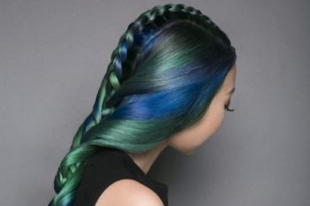 Jewel-tone hair is the new gorgeous multi-color look for brunettes