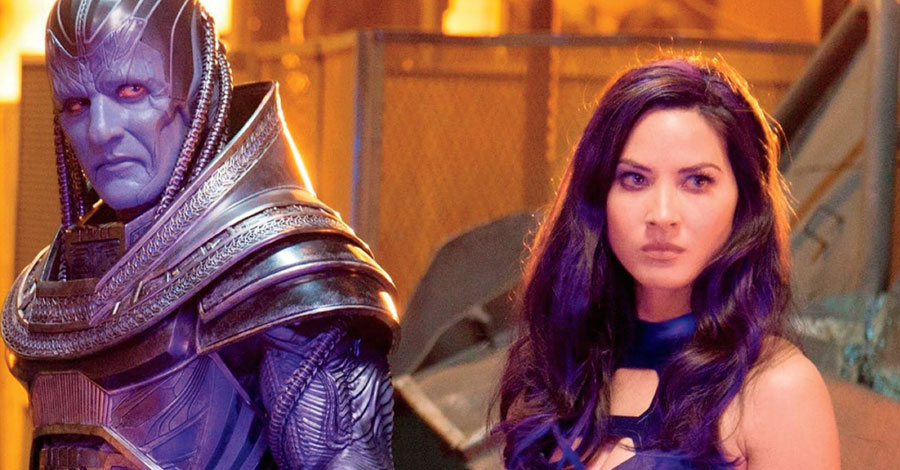"Olivia Munn knows exactly what she wants next for her ""X-Men"" character"