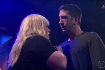 David Schwimmer and Rebel Wilson had a rap battle and we're all winners
