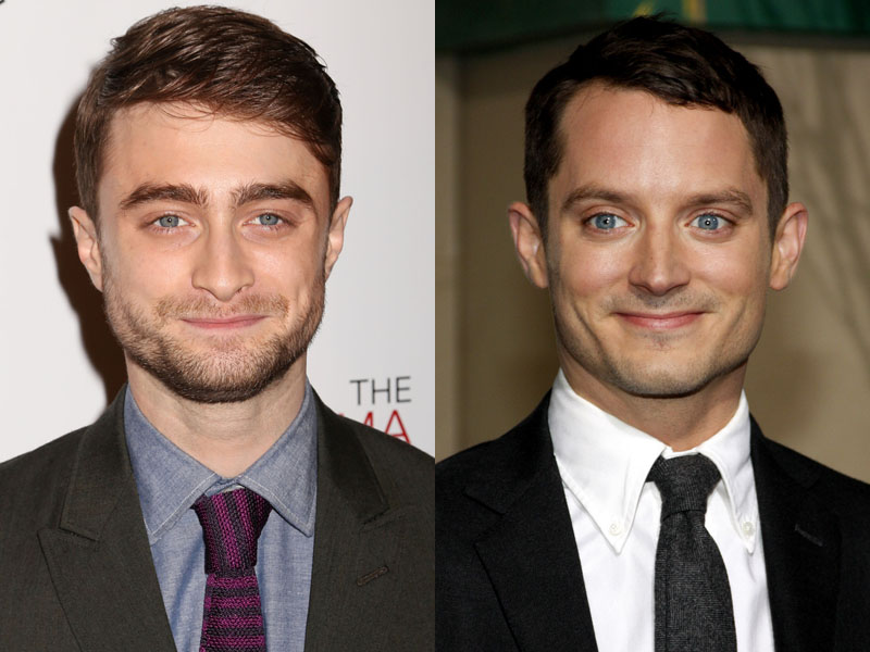 You need to see this seamless GIF of Daniel Radcliffe morphing into Elijah Wood