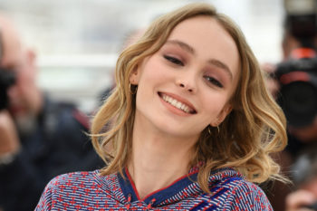 Lily-Rose Depp looks like an actual queen in her birthday outfit