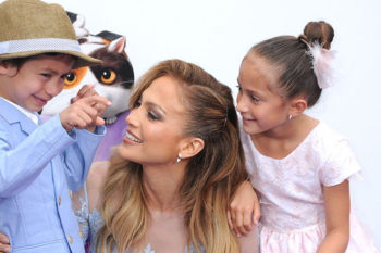 Jennifer Lopez just shared proof that her son is actually the best