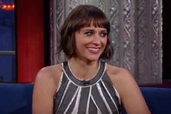 Rashida Jones just gave Stephen Colbert an important lesson in feminism