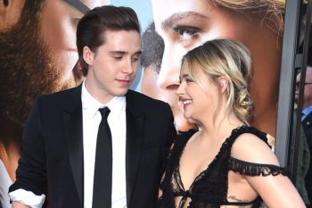 Chloë Grace Moretz and Brooklyn Beckham just upped their cutest couple game yet again
