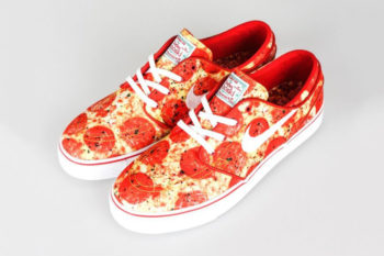 "We either want to wear or eat these ""pizza"" shoes!"