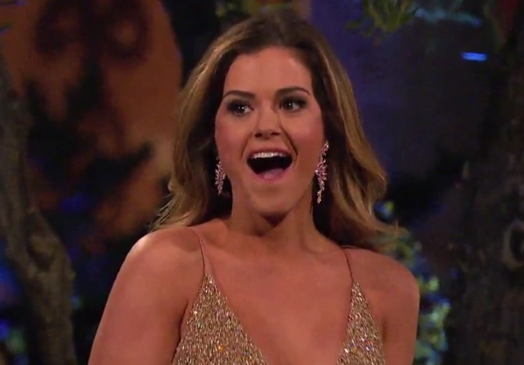 """The Bachelorette"" star was shocked by the previews for her own show"