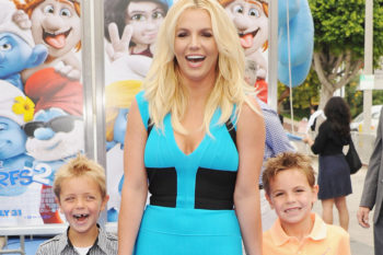 Britney Spears' family is making the very most of the holiday weekend