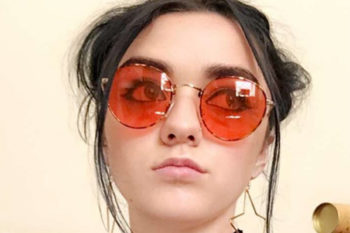 Maisie Williams showed off an amazing glam rock look and we are in love