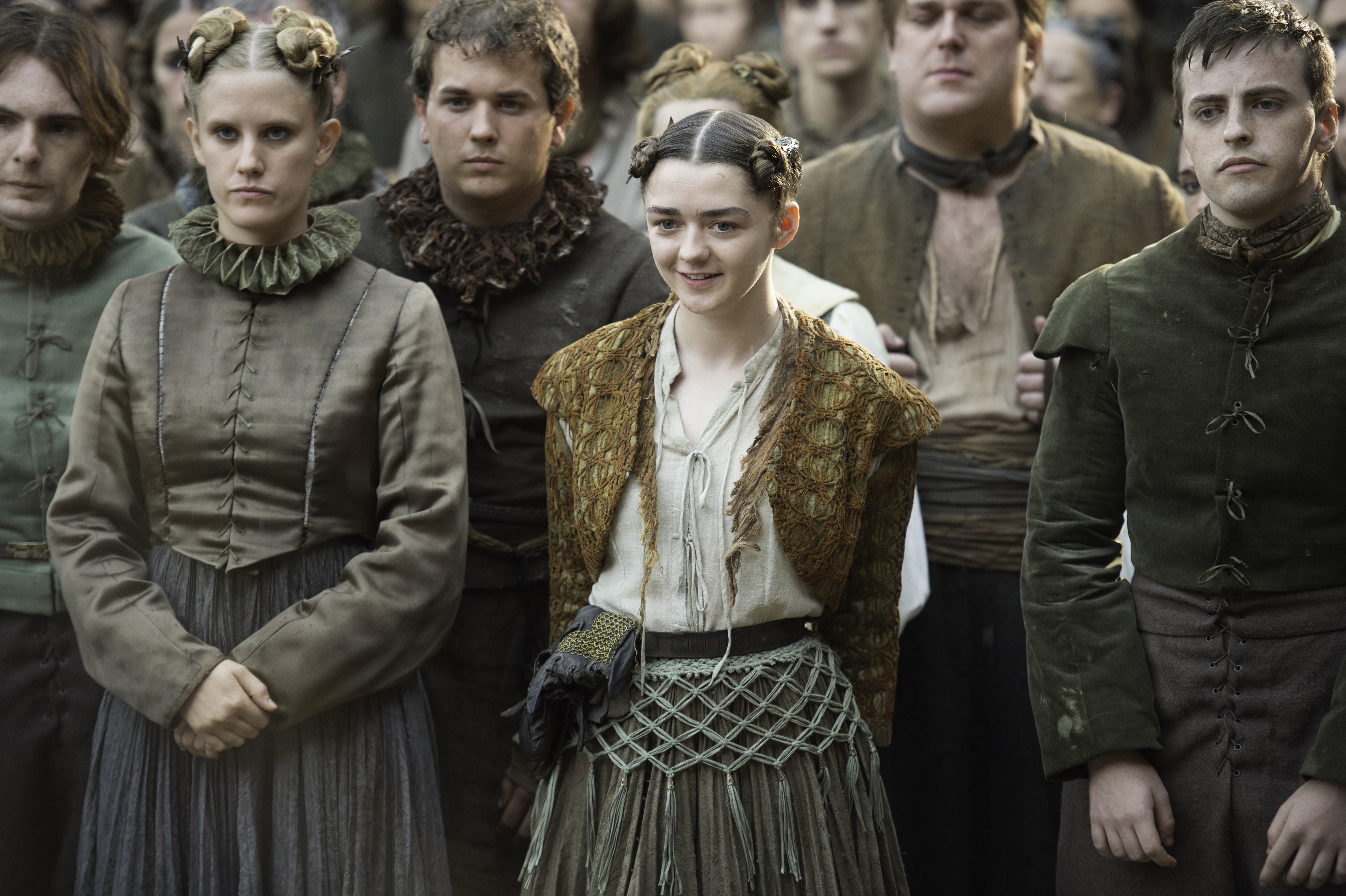 "You might have missed this tiny detail about Arya during this week's ""Game of Thrones"""