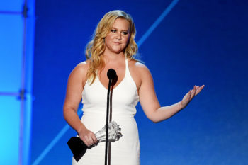 We always knew that Amy Schumer was a goddess, and this Instagram post proves it