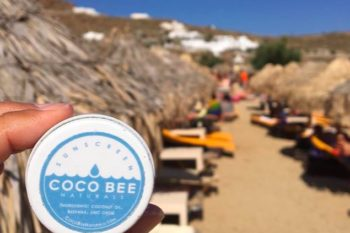 This sunscreen is made from coconut oil! In case you wanted to be 100% natural this summer