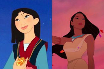 Whoa, Mulan and Pocahontas both got new Disney princess makeovers