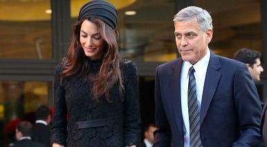 Let's talk about the beautiful turban Amal Clooney wore to meet the Pope