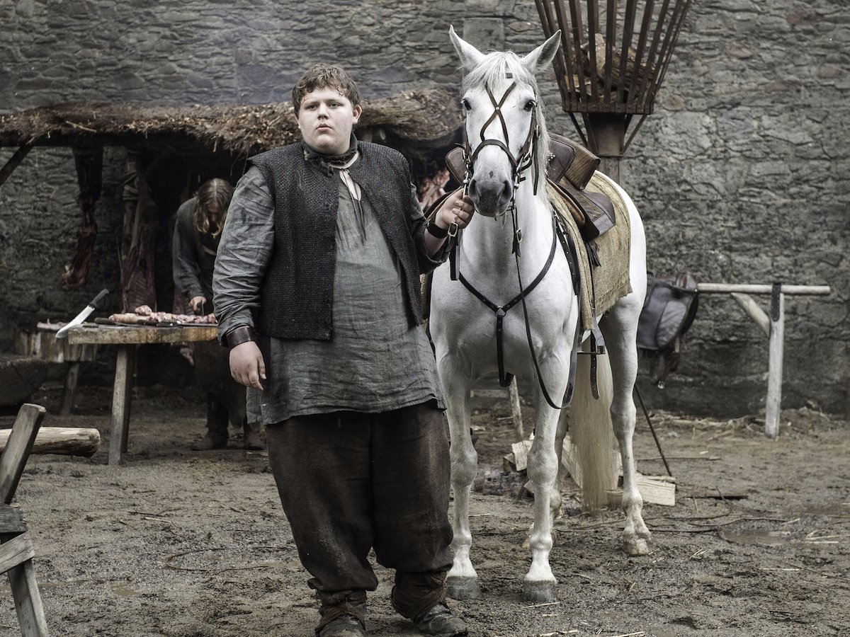 """The actor who played young Hodor wrote a tragic song about his """"Game of Thrones"""" fate, and now we're sobbing"""