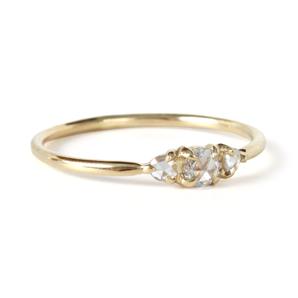 super tiny gorgeous affordable engagement rings tiny wedding ring sb2